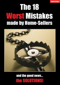 18 Worst Mistakes Made By Homesellers Update cover