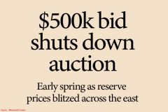 Sellers Lost Heavily Over Weekend Auctions